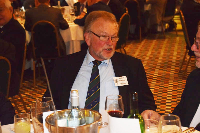Photograph of Arthur Howarth (1959/66) at Reunion Dinner 2016