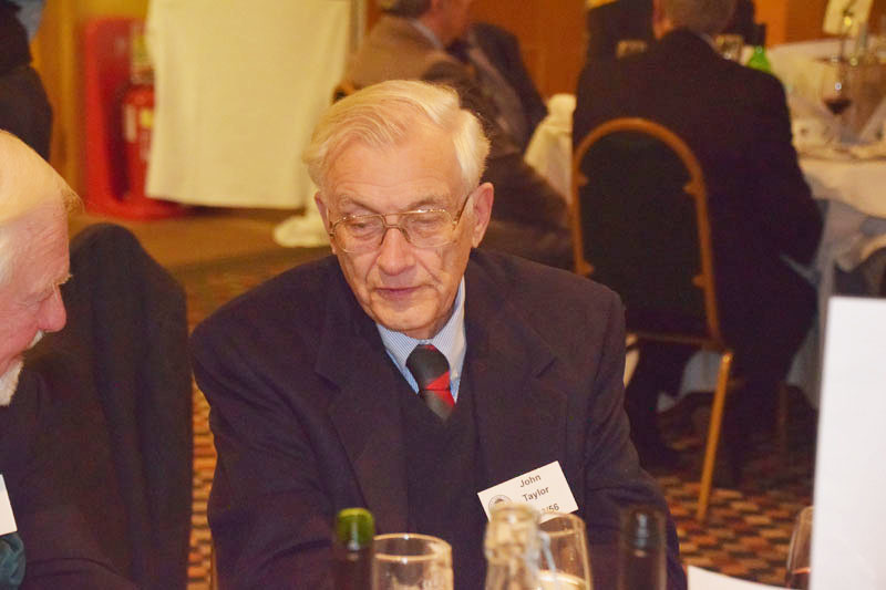 Photograph of John Taylor (1949/56) at Reunion Dinner 2016