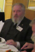 Photograph of Keith Dutton (1960/63) at Reunion Dinner 2016