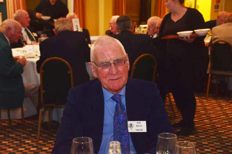 Photograph of Bob Byrne (1953/58) at Reunion Dinner 2017