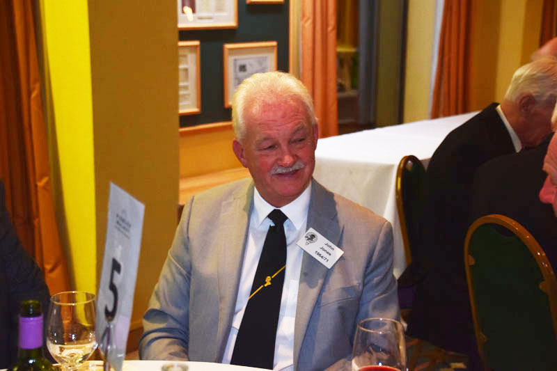 Photograph of John Jones (1964/71) at Reunion Dinner 2017