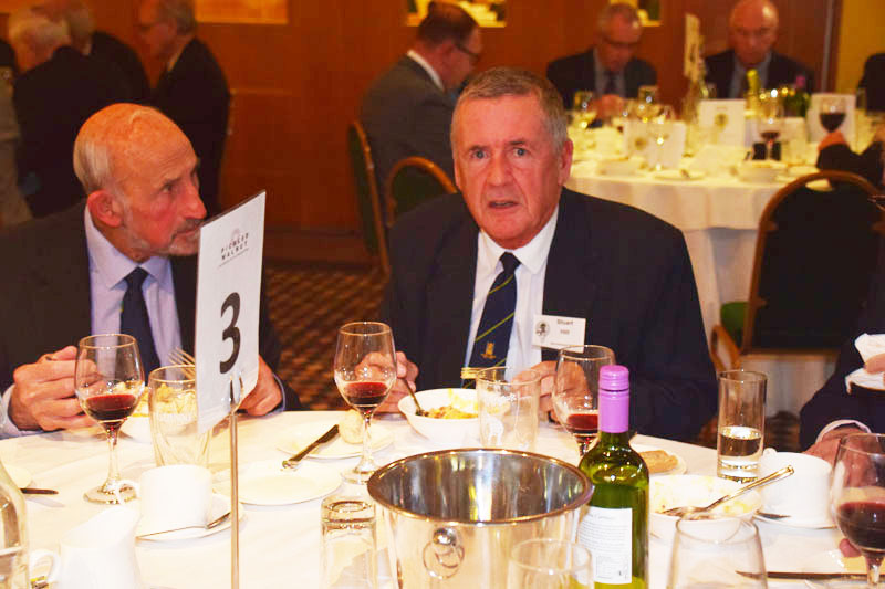 Photograph of Stuart Hill (Old Instonians RUFC) at Reunion Dinner 2017