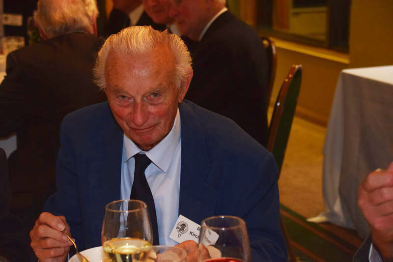 Photograph of Ron Kirchner (1944/49) at Reunion Dinner 2017