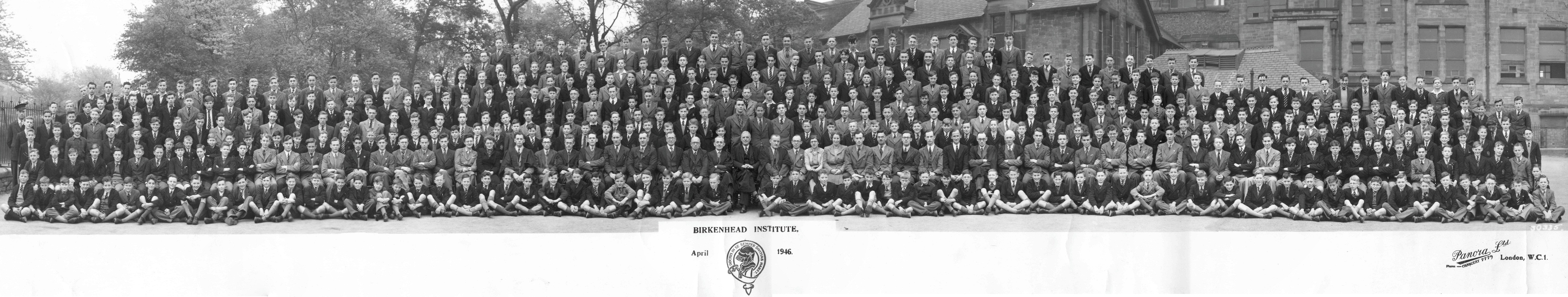 Whole School Photograph - 1946