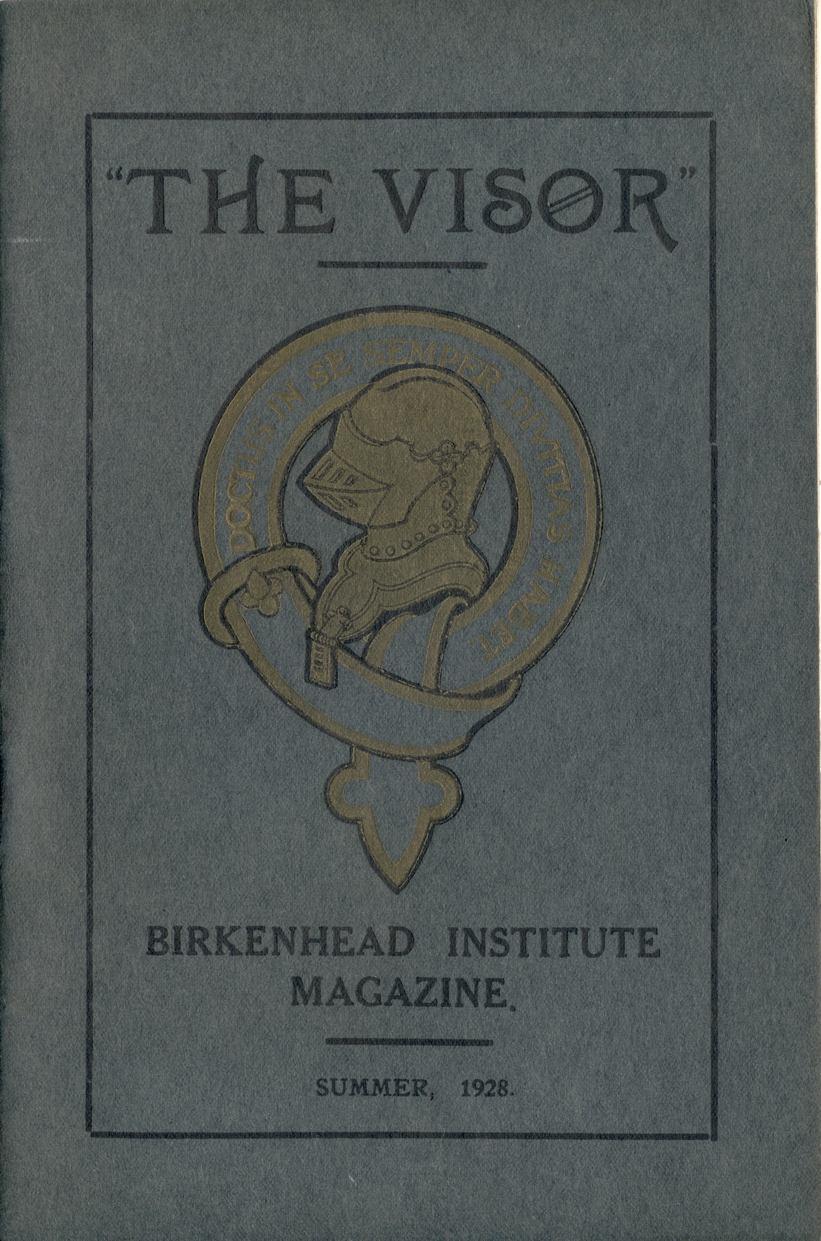 Visor Magazine Summer 1928