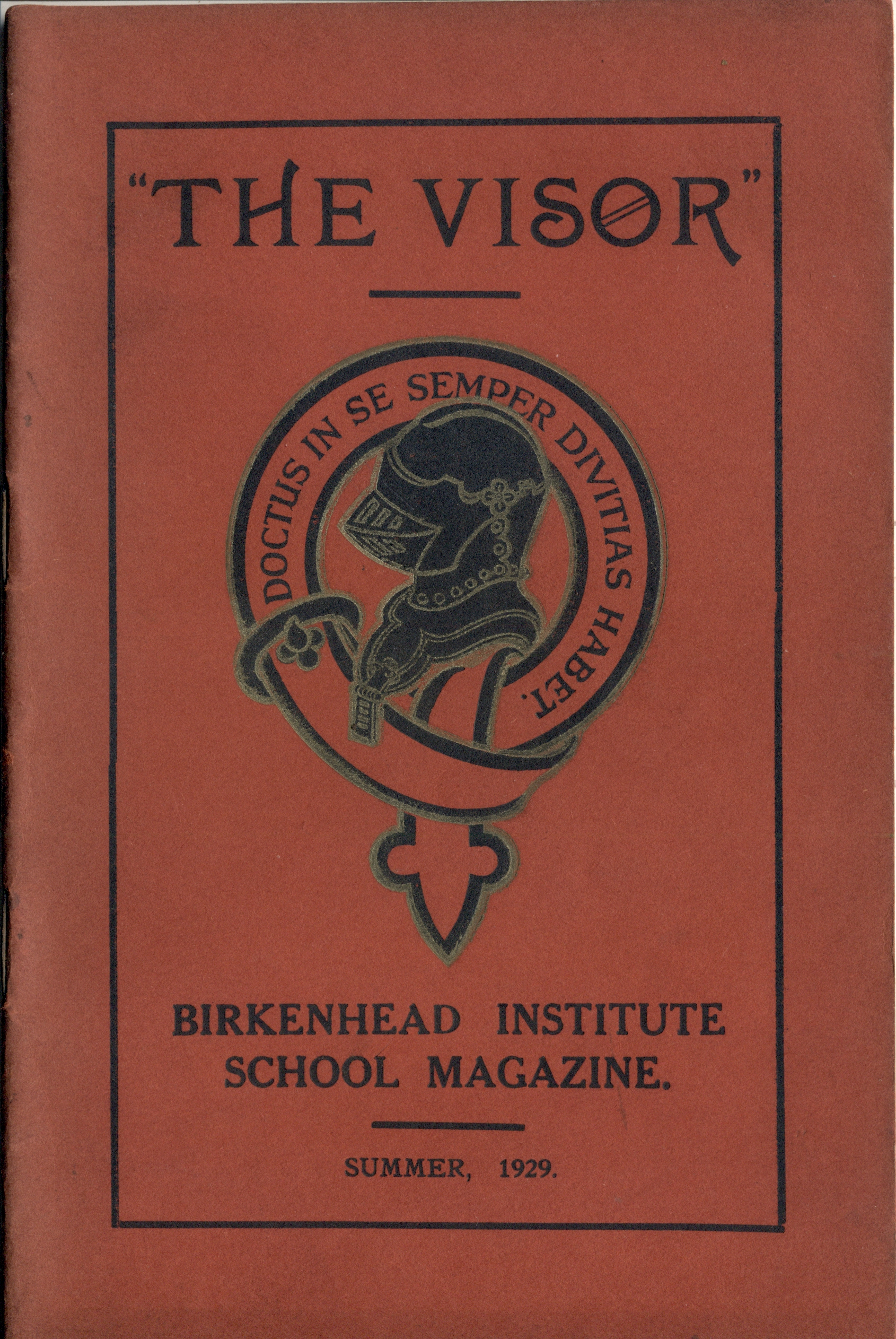 Visor Magazine Summer 1929